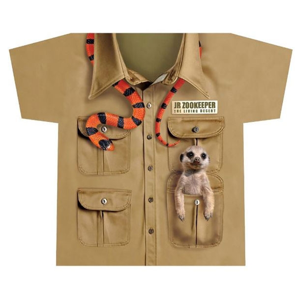 TODDLER JR ZOO KEEPER TEE