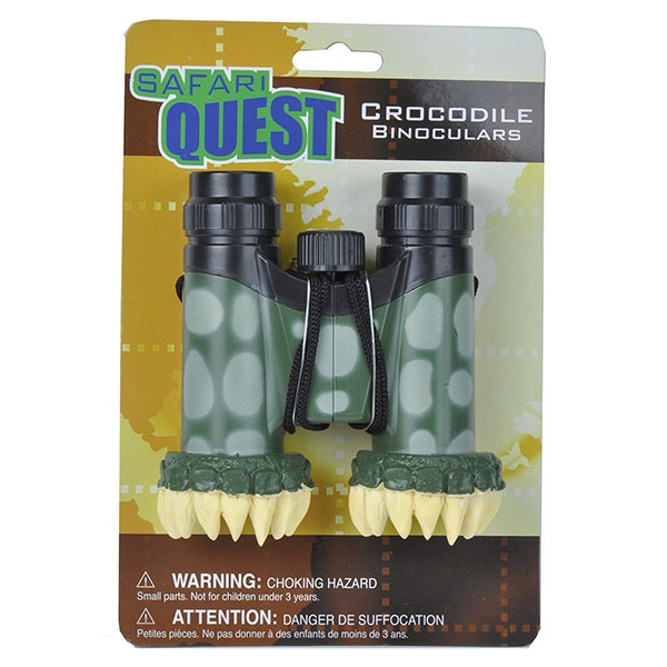 SAFARI QUEST CROCODILE BINOCULARS