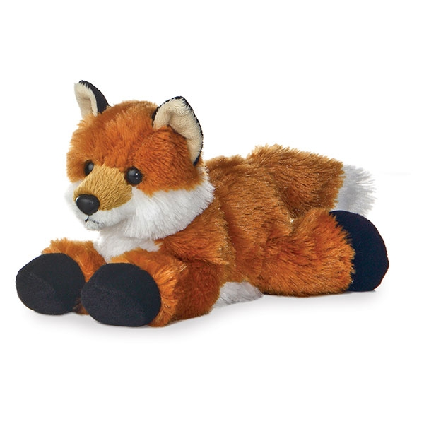 RED FOX MINI FLOPSIE PLUSH
