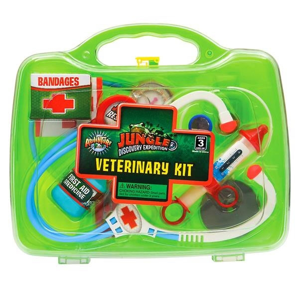 JUNIOR ZOO KEEPER VET KIT GREEN