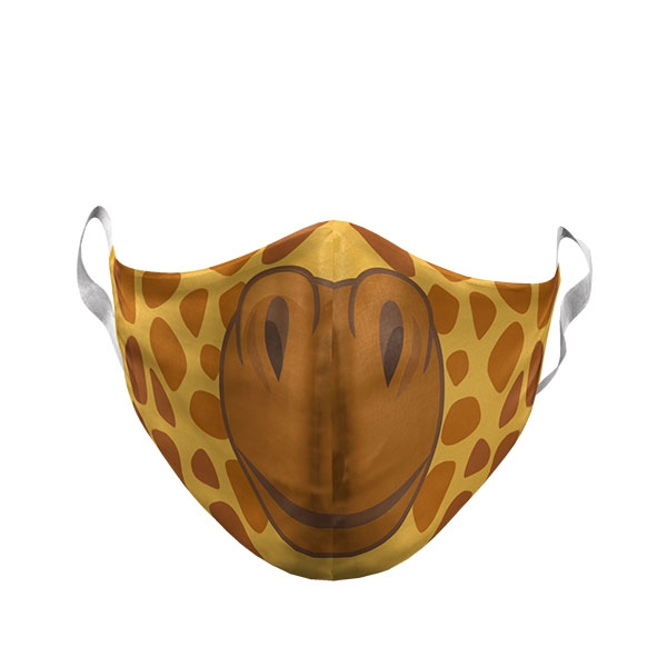 GIRAFFE FACE ADULT MASK