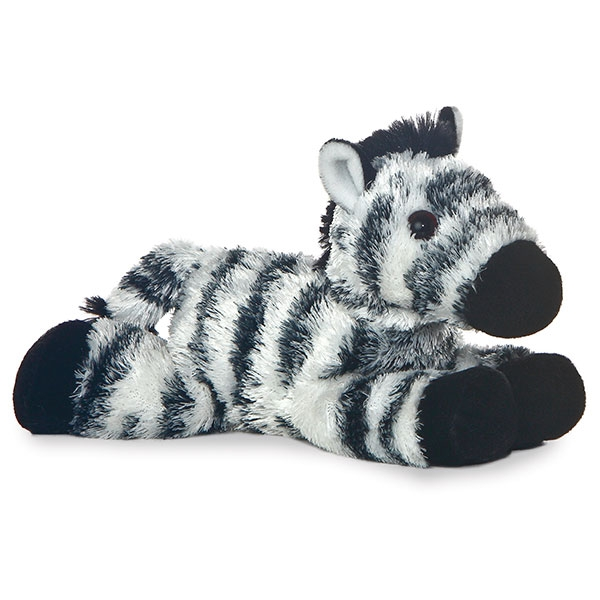 ZEBRA MINI FLOPSIE PLUSH