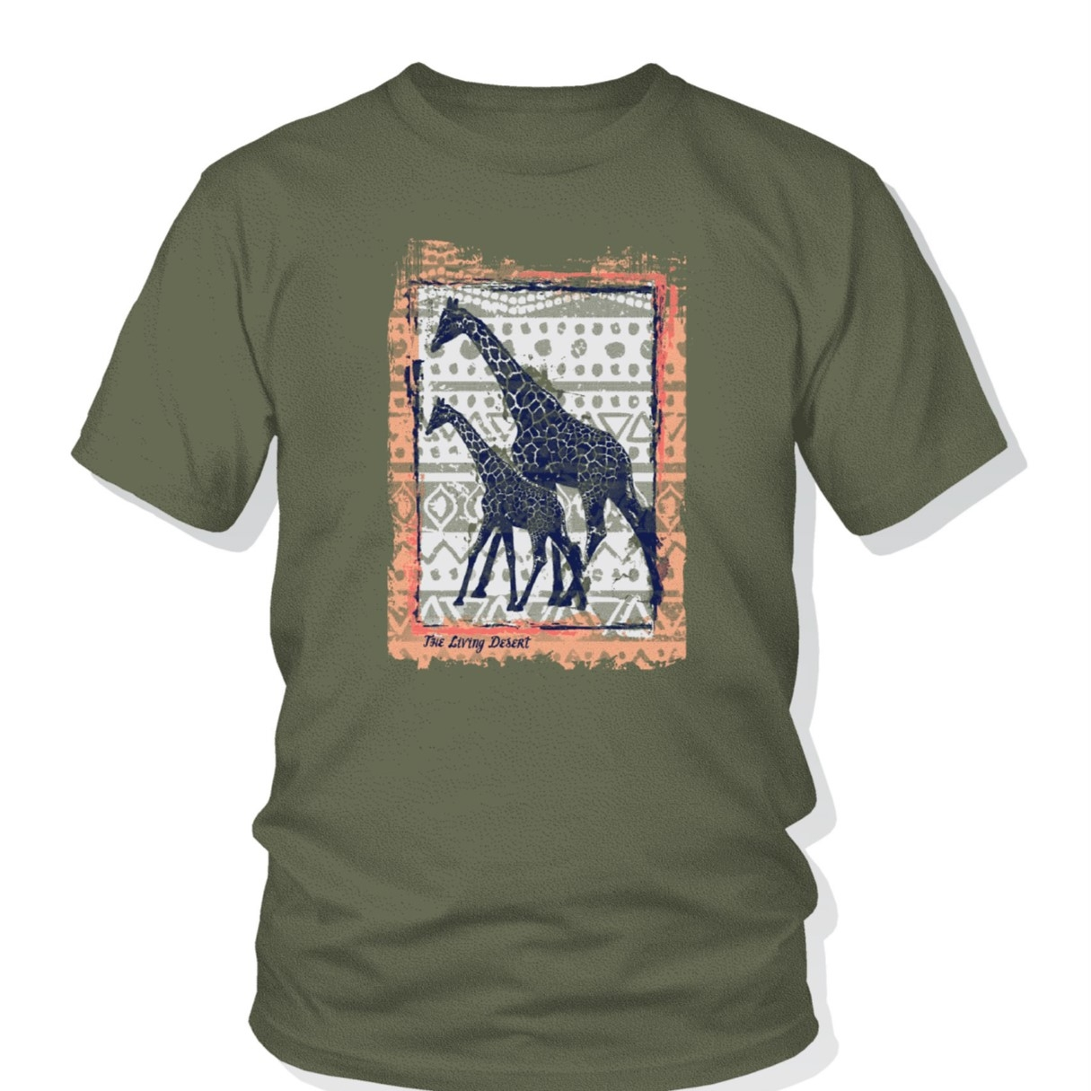 ADULT ADVENTURE GIRAFFE TEE