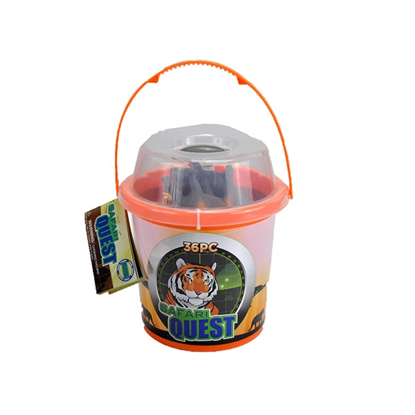 SAFARI QUEST ANIMALS BUCKET