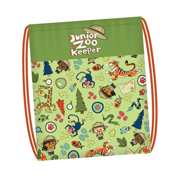JUNIOR ZOO KEEPER DRAWSTRING BACKPACK