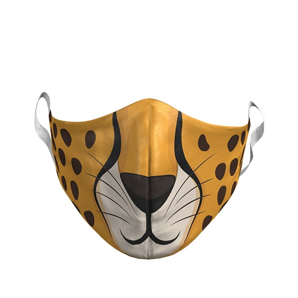 CHEETAH FACE ADULT MASK