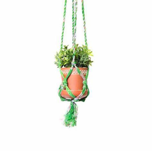 HANGING POT SARI MACRAME SMALL