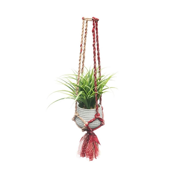 HANGING POT SARI MACRAME MEDIUM