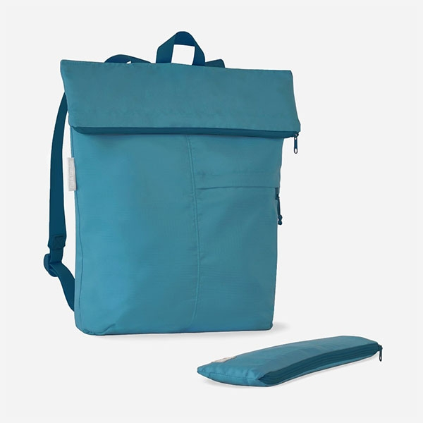 PACKABLE BACKPACK BLUE