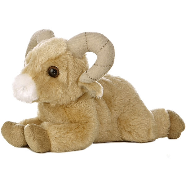 BIG HORN SHEEP MINI FLOPSIE PLUSH