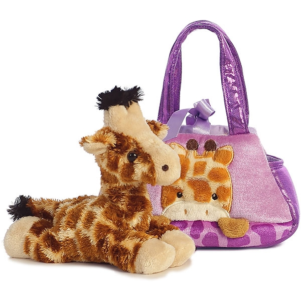 PURSE  WITH PEEK A BOO GIRAFFE