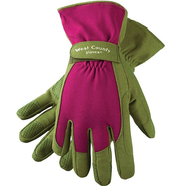 RECYCLED GARDEN GLOVES BERRY