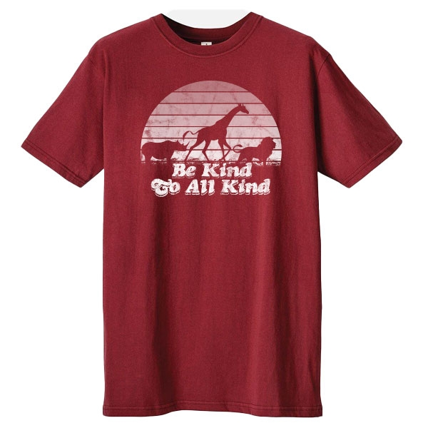 ADULT BE KIND TO ALL ANIMALS SHIRT