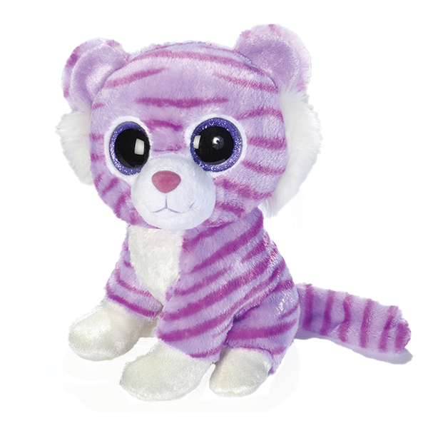 Grape Scented Tiger Plush